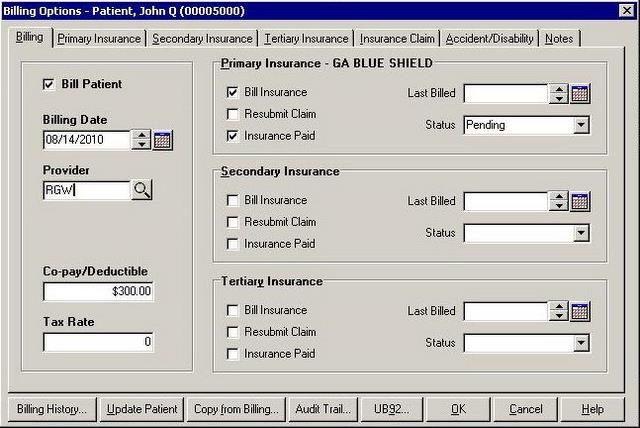 Electronic Medical Insurance Billing, Health Insurance Claim Software